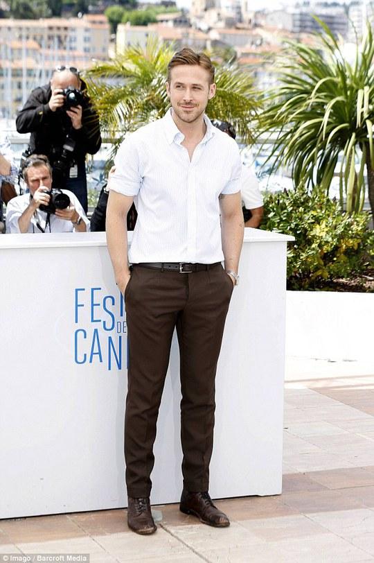 Ryan Gosling hạnh phúc vì có con gái