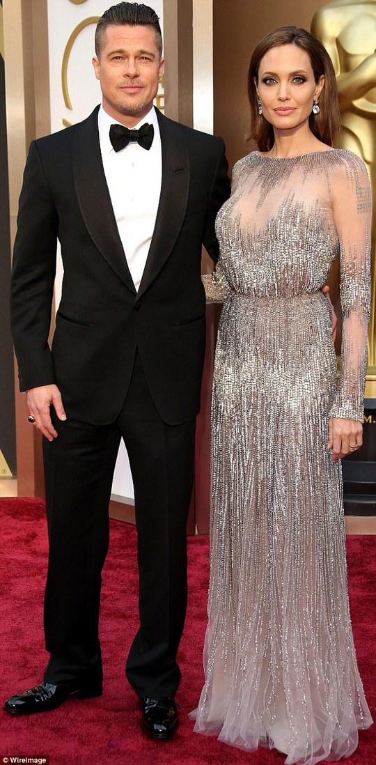 Brad Pitt và Angelina