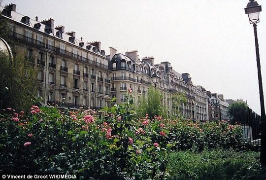 Dãy triệu phú ở Paris
