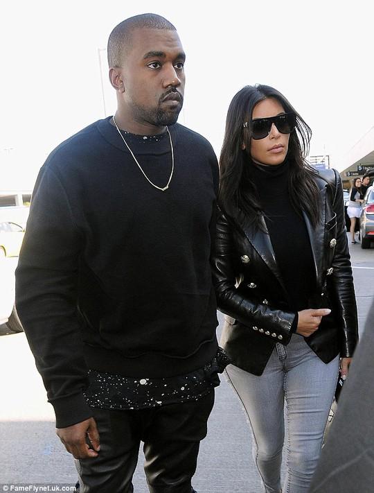 và chồng Kanye