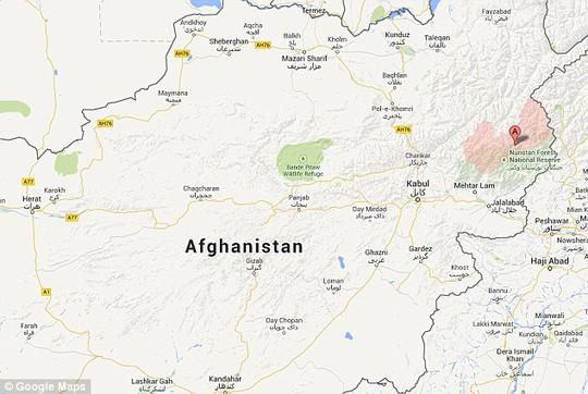 Hươu xạ hương được phát hiện tại Afghanistan