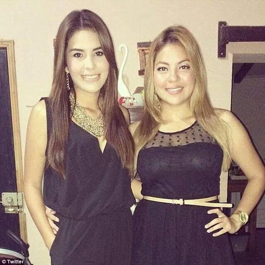 Hai chị em Maria Jose Alvarado và Sofia Trinidad