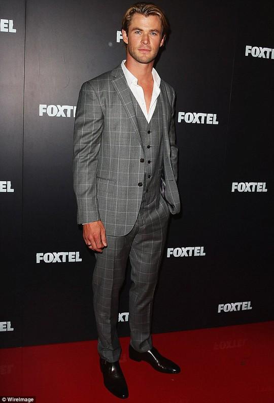 Chris Hemsworth là người đàn ông đương đại gợi tình nhất