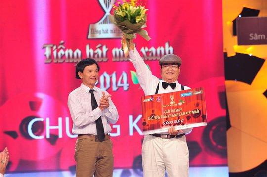 Thí sinh Trần Văn Nghiêm