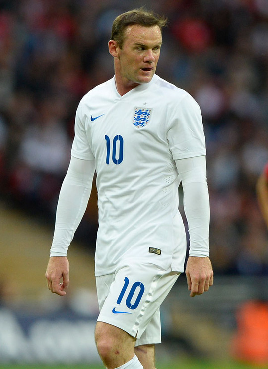 Wayne Rooney vẫn được HLV trưởng và đồng đội bảo vệ dù có màn trình diễn gây thất vọng trước Peru Ảnh: REUTERS