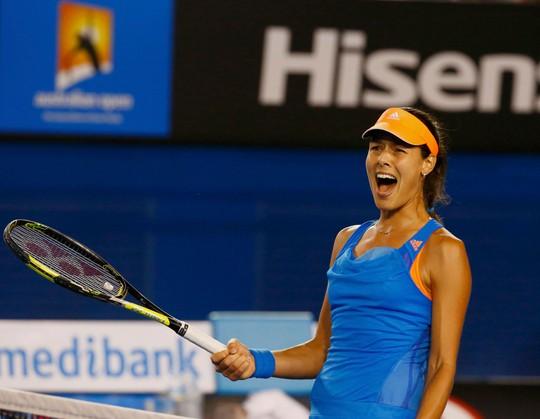 Ivanovic tự tin sau khi loại Stosur nhưng cô phải nỗ lực gấp bội nếu muốn lật đổ được Serena trưa 19-1  Ảnh: REUTERS
