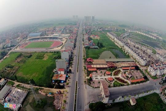 Đây là một trong rất nhiều khu đô thị ở Hà Nội bị bỏ hoang, điển hình cho một thời đất sốt ảo, khi các nhà đầu tư ném tiền vào đất mong chờ siêu lợi nhuận.