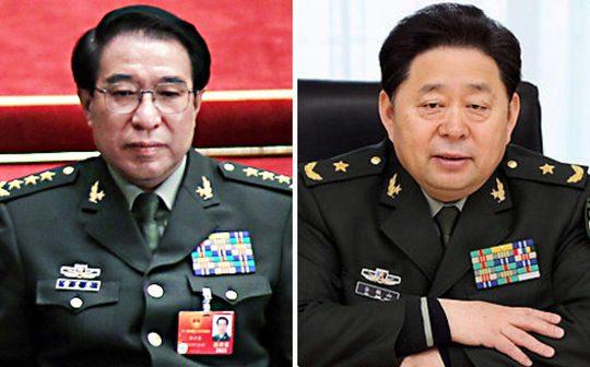 Ông Từ Tài Hậu (trái) và Cốc Tuấn Sơn Ảnh: SCMP