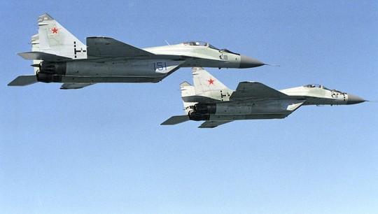 Máy bay chiến đấu MiG 29. Ảnh: RIA Novosti