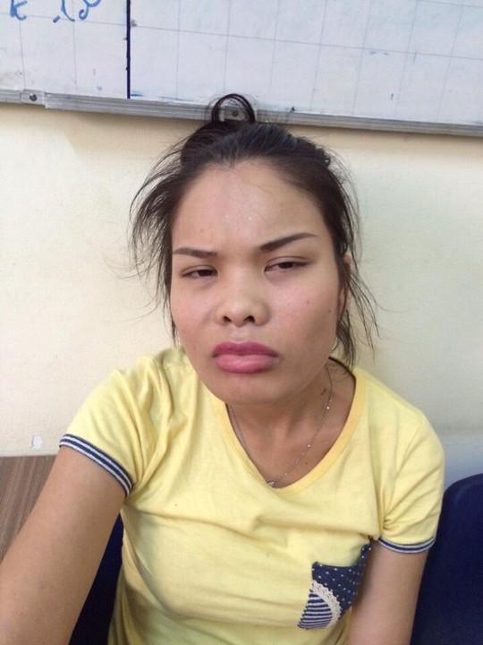 Nguyễn Thị Thủy Linh tại công an