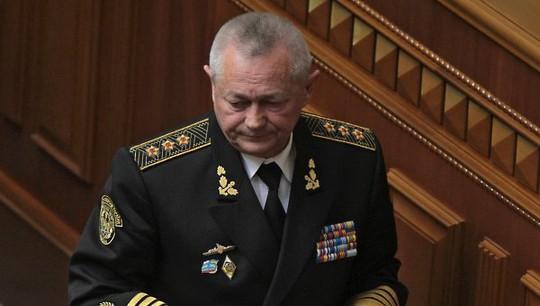 Đơn xin từ chức của Bộ trưởng Quốc phòng lâm thời Ukraine Ihor Tenyukh được chấp thuận