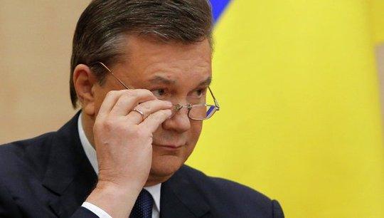 Tổng thống Ukraine bị truất quyền Viktor Yanukovych. Ảnh: Ria