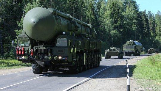 Bộ Quốc phòng Nga tuyên bố sẽ tổ chức cuộc tập trận tên lửa chiến lược quy mô lớn. Ảnh: Ria Novosti