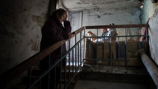 286 thi thể phụ nữ được phát hiện ở thành phốKrasnoarmeisk. Ảnh: AP