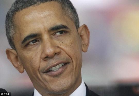 Tổng thống Mỹ Barack Obama. Ảnh: EPA