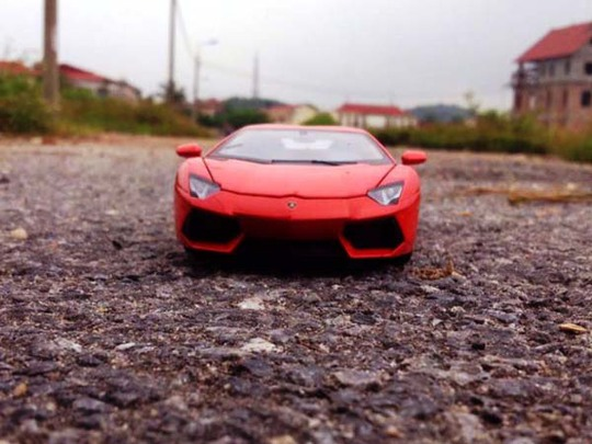 Những chiếc xe mô hình có giá vài chục triệu đồng nhưng người chơi vẫn không tiếc tiền để có được.