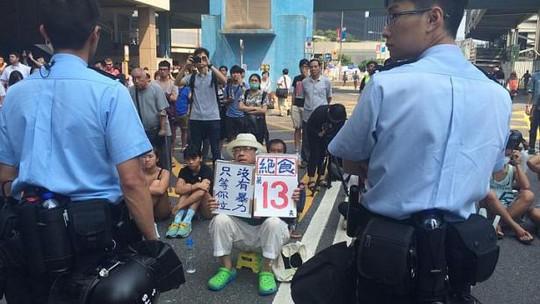 Cảnh sát Hồng Kông bắt 45 người biểu tình
