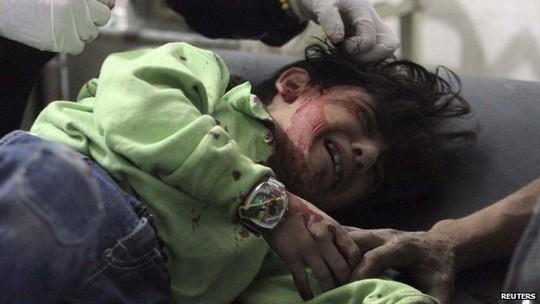 Con số thương vong sau 210 cuộc không kích không được tiết lộ. Ảnh: Reuters