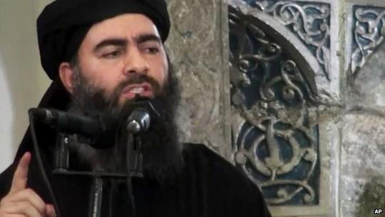 Thủ lĩnh Nhà nước Hồi giáo (IS) tự xưng Abu Bakr al-Baghdadi. Ảnh: AP