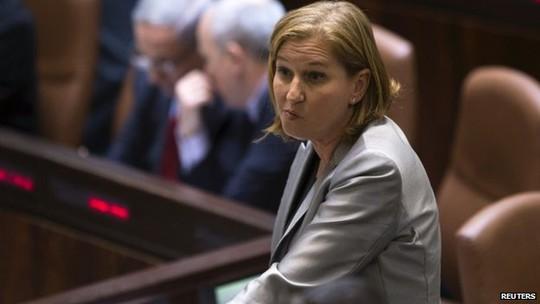 Bộ trưởng Tư pháp Tzipi Livni. Ảnh: Reuters