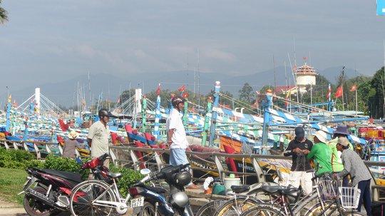 Người dân TP Phan Thiết vẫn sinh hoạt bình thường