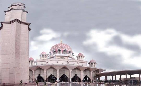Văn phòng Chính phủ Malaysia cùng ngôi đền Hồi Giáo tuyệt đẹp ở Putrajaya
