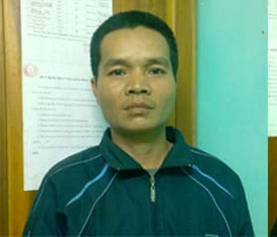 Đối tượng Lò Văn Hùng, một trong 2 kẻ bỏ vào rừng trốn lệnh truy nã sa lưới.