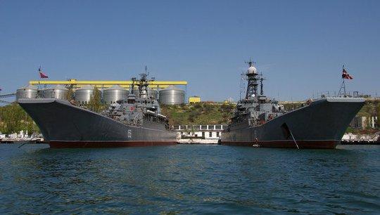 Tàu chiến thuộc Hạm đội Biển Đen của Nga. Ảnh: RIA Novosti