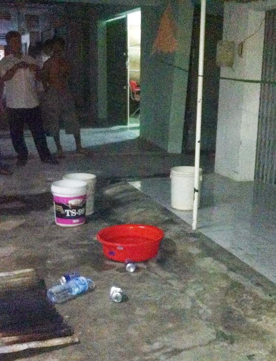 Hiện trường nơi em Kiệt bị điện giật tử vong