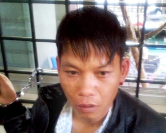 Đối tượng Lê Đình Hưng bị bắt giữ sau khi chôm gần 10 triệu đồng của người nhà bệnh nhân.