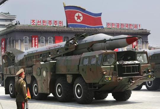 Bình Nhưỡng liên tiếp thử tên lửa đạn đạo hai tháng vừa qua. Ảnh: Reuters
