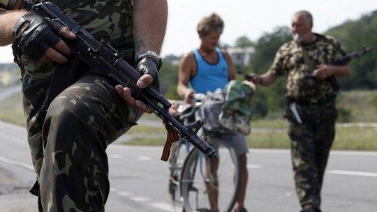 Quân đội Ukraine bắt đầu mở cuộc tấn công chiếm lại thành phố Donetsk hôm 5-8. Ảnh: BBC