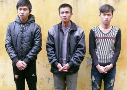 Ba đối tượng bị cơ quan công an TP Thanh Hóa ra lệnh bắt khẩn cấp.