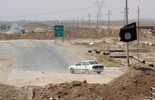 IS đang muốn bành trướng ra ngoài lãnh thổ Irag và Syria. Ảnh: Reuters