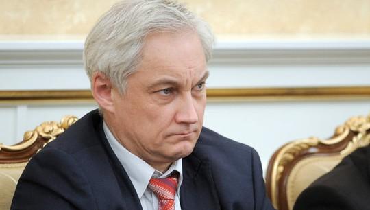 Cố vấn kinh tế hàng đầu của Điện Kremlin, ông Andrei Belousov. Ảnh: RIA Novosti