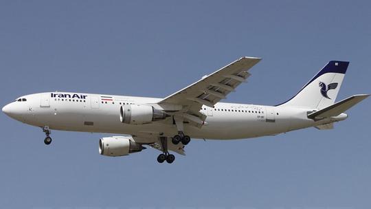 Máy bayAirbus A300B2-203 của hãng hàng không Iran. Ảnh: RT
