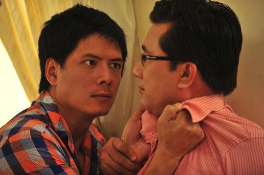 Vai Mạnh trong phim Hãy để anh yêu em là một vai phản diện mà Bình Minh rất tâm đắc
