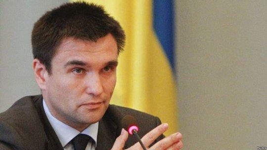 Ngoại trưởng Ukraine Pavlo Klimkin. Ảnh: Reuters