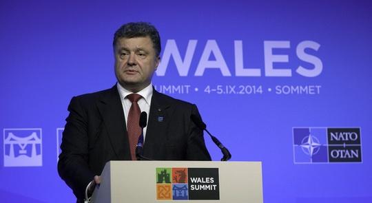 Tổng thống Ukraine Petro Poroshenko sẽ được mời phát biểu tại cuộc họp của Quốc hội Mỹ ngày 18-9. Ảnh: AP