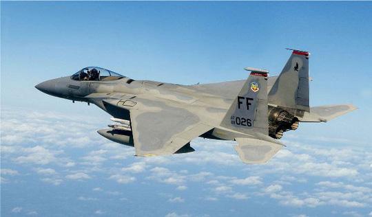 Máy bay chiến đấu F-15 Eagle của Mỹ. Ảnh: Wikipedia