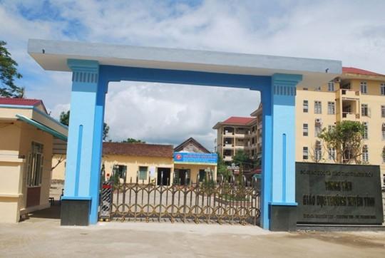 Trung tâm GDTX tỉnh Thanh Hóa - nơi xảy ra vụ chạy đầu vào thi cao học.