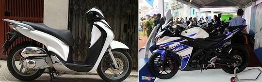 Mẫu môtô đang hot của Yamaha là R25 có giá tương đương một chiếc SH.