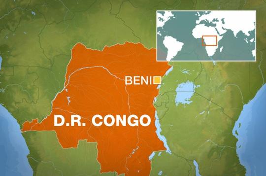Cuộc tấn công trên xảy ra ở làng Oichi, thuộc tỉnh Bắc Kivu. Ảnh Aljazeera