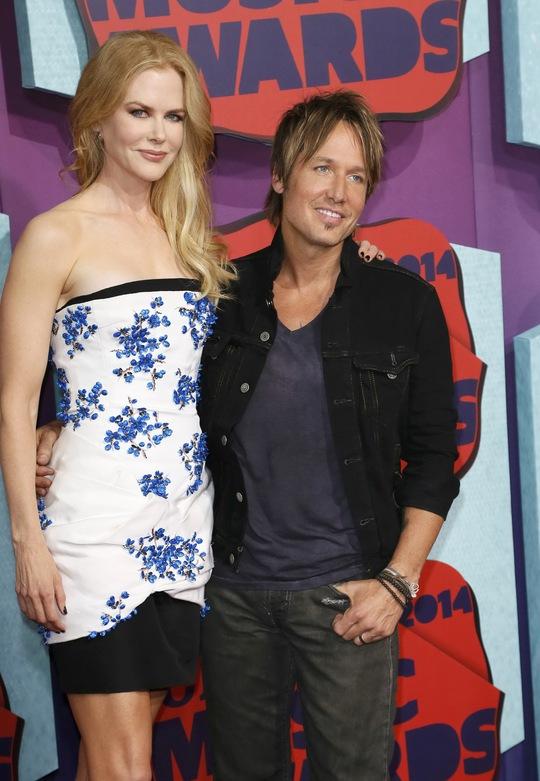 Nicole Kidman và chồng Keith Urban