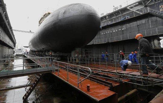 Hạm đội Biển Đen sẽ có 206 chiến hạm và các loại tàu vào năm 2020. Ảnh: Reuters