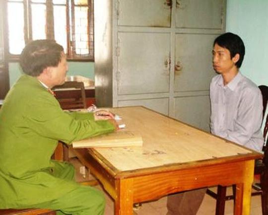 Trần Văn Ninh đang được cơ quan công an làm rõ hành vi đánh công an