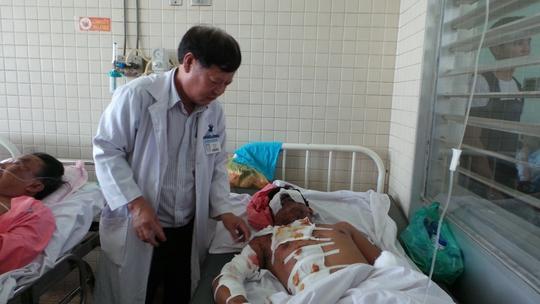 Dù nỗ lực điều trị nhưng tiên lượng sức khỏe bệnh nhân nhân khá dè dặt.