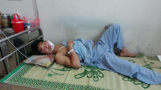 Nguyễn Văn Chính đang được điều trị tại bệnh viện