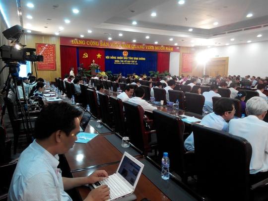 Bình Dương chưa thể bầu chủ tịch mới thay thế cho ông Lê Thanh Cung sắp hết nhiệm kỳ