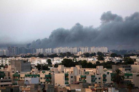 Mỹ khẳng định Các tiểu vương quốc Arập thống nhất (UAE) được sự giúp đỡ của Ai Cập đã thực hiện các cuộc không kích Libya tuần trước. Ảnh: EPA